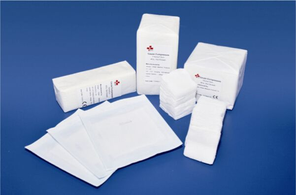 TZ2003 Gauze sponges/compresses/swabs
